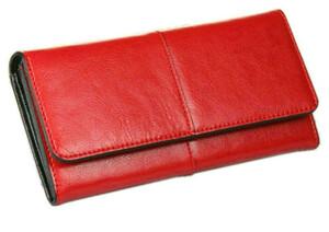 c460209c4b9b0 Klasyczny duży portfel damski szlachetna skóra hit