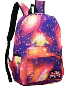 05fdd640ca85c Plecak szkolny kosmos gwiazdy nadruk 3d kolory