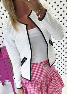 100b8e84762f Marynarka elegancka sweterek czarna szara s - xl