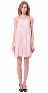 2d4b9dae0f Sukienka różowa lekka lato ramiączka modna s-xxl