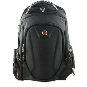 a501b16419880 Plecak pojemny czarny sportowy turystyczny
