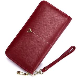 0404918d09d2e Duży stylowy portfel damski skóra bydlęca kolory
