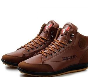 178b2f50fd871 Męskie buty jesień ciepłe oryginalne wiązane