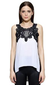 c2ff76ee4f Damska stylowa bluzka z koronką oryginalna S - XXL