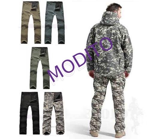 Spodnie męskie wojskowe moro zielone czarne s xxxl