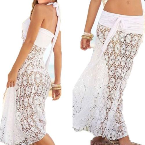 87d704c4d1 Sukienka spódnica 2w1 ażurowa koronkowa na plażę MODITO