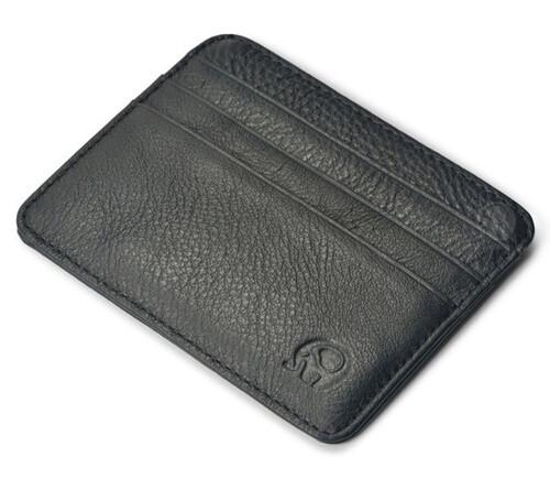 8a4f12a7a0724 Poręczny portfel męski skóra 100% etui na karty MODITO