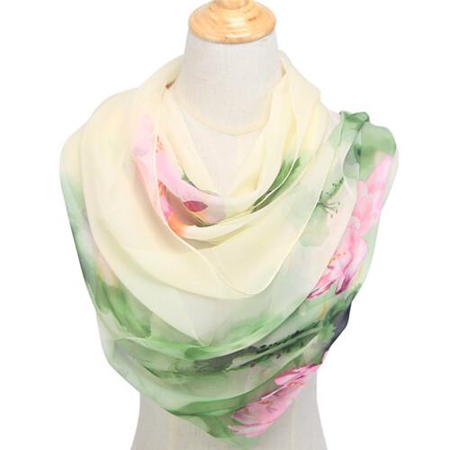 a44991863d024d Apaszka delikatna chustka szal transparentna kwiaty MODITO