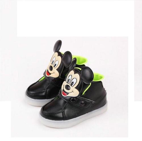 Buty trampki dziecięce sportowe świecące myszka miki