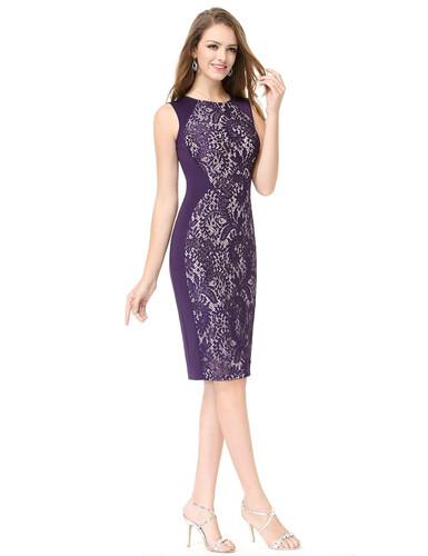 3d2b29c261 Sukienka prosta elegancka koronka ołówkowa MODITO