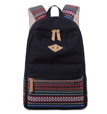 fde56e2a0312f Plecak szkolny damski kolorowy wzory zielony niebieski czerwony MODITO