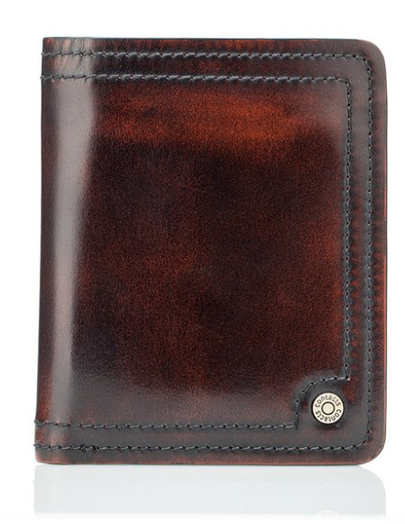 4daa20f52c7d7 Przypalany elegancki męski portfel skóra vintage. Męski portfel