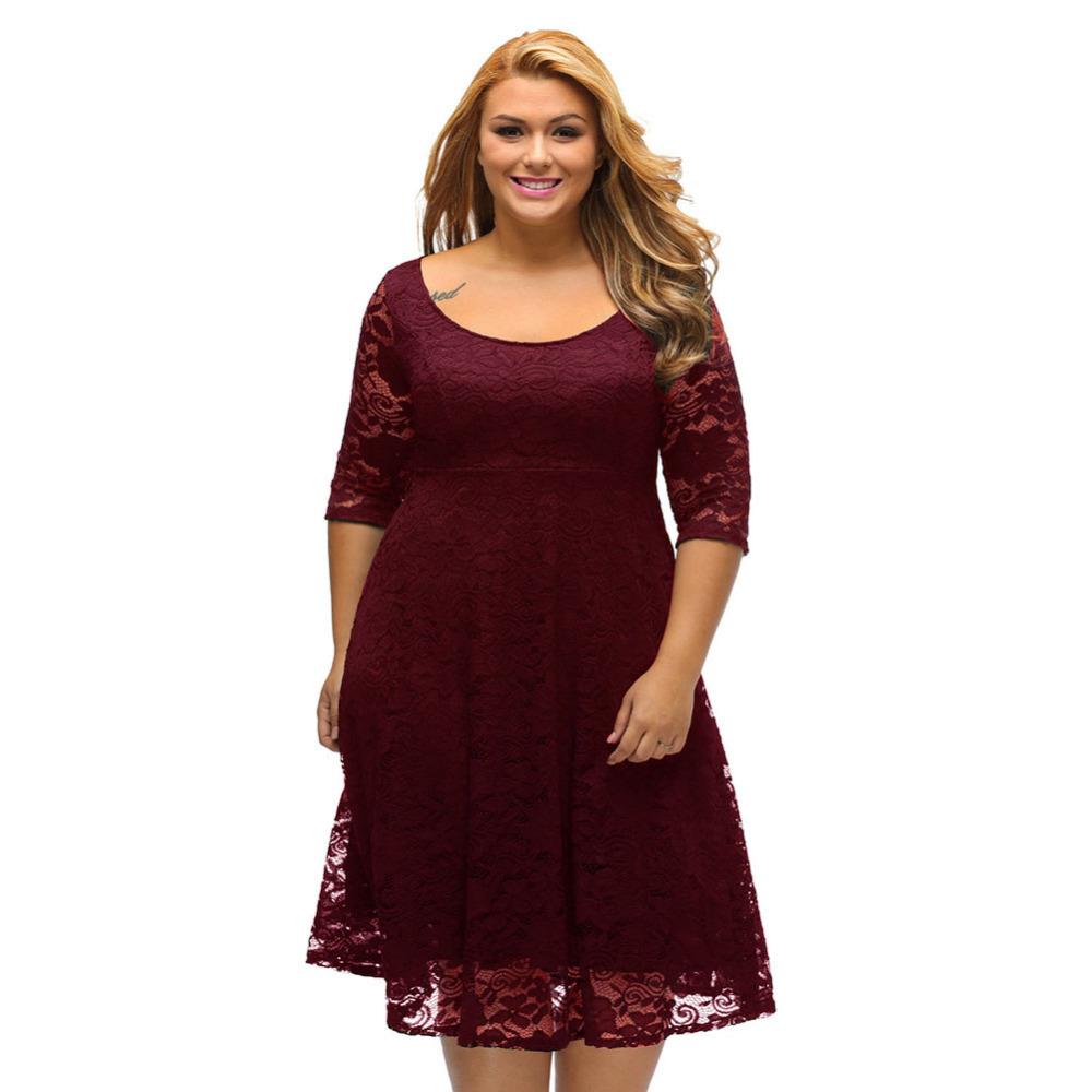 e0f1a03b122e ... sukienka koronkowa duże rozmiary czerwona  sukienka koronkowa duże  rozmiary granatowa